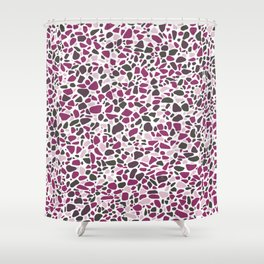 Terrazzo AFE_T2019_S10_2 Shower Curtain