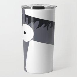 Bug Eyed Pony Travel Mug