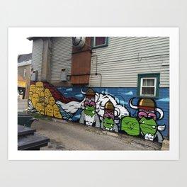 Pilsen Mural  Art Print