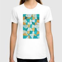square T-shirts featuring Square by sinonelineman