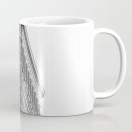 Flatiron Black and White NYC Coffee Mug