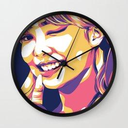 Jennie Blackpink Wall Clock