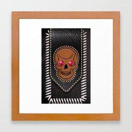Hot Head Leather 2 Framed Art Print