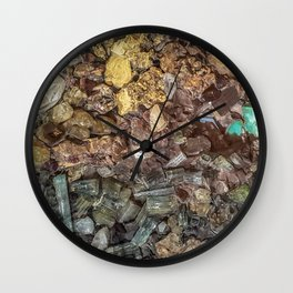 Gems collection 1 Wall Clock