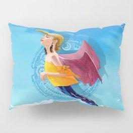 Bird woman Pillow Sham