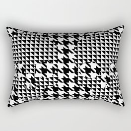 houndstooth skull #1 Rectangular Pillow
