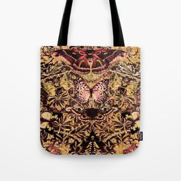 Honeysuckle, Butterflies and Moths Tote Bag