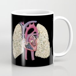 Fetal Heart with Baby's Breath Lungs Coffee Mug