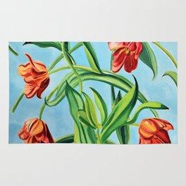 Happy Tulips Rug