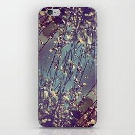 Flower Flip iPhone Skin