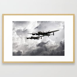Once in a Lanc Time Framed Art Print