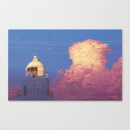 memories of gone summer [Goodbye summer days] Canvas Print