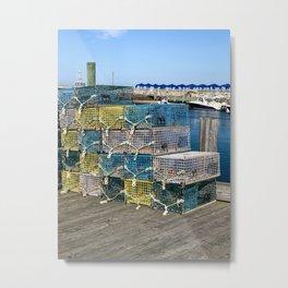 Trapped on Block Island Metal Print