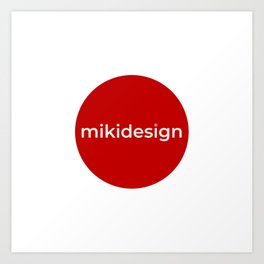 mikidesign co. brand Art Print