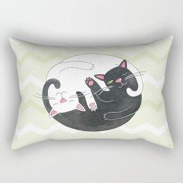Cat Philosophy Rectangular Pillow