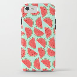 Watermelon Pattern iPhone Case