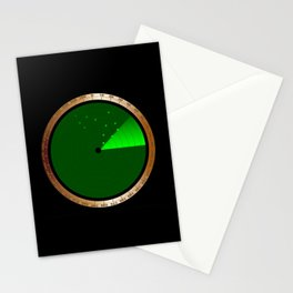 Detected Radar Stationery Cards