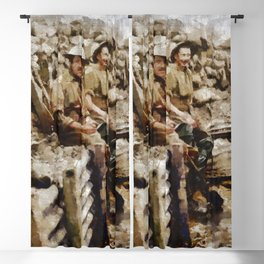 Ghosts of World War One Blackout Curtain