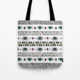 Pattern Indie boho eyes Tote Bag