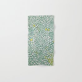 African American Masterpiece White Roses Sing! by Alma Thomas Hand & Bath Towel