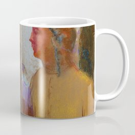 "Odilon Redon ""Évocation (Femme à la montagne)"" Coffee Mug"
