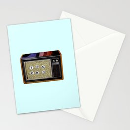 show's over Stationery Cards