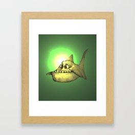 Piranha (back lit) Framed Art Print