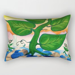 Life - from a surreal point of view Rectangular Pillow