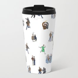 Mr. Wrench and Mr. Numbers Travel Mug