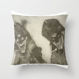 Clopin Trouillefou, The Hunchback of Notre Dame Throw Pillow