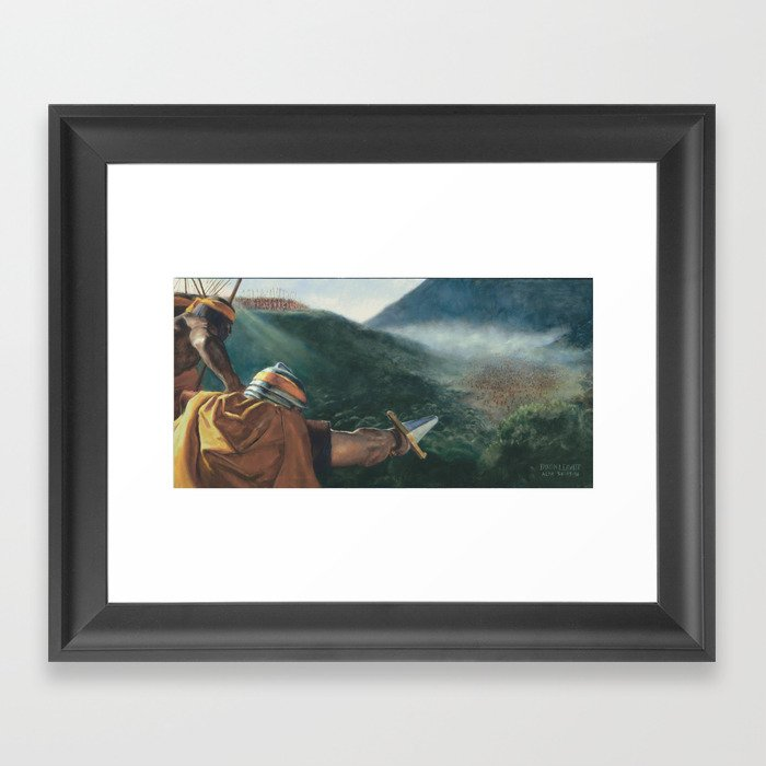 Stripling Warriors Framed Art Print