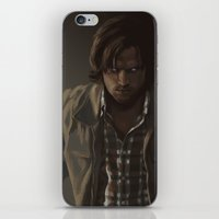 sam winchester iPhone & iPod Skins featuring Ezekiel. Sam Winchester by Armellin