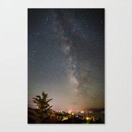 South Lake Tahoe Milky Way Canvas Print