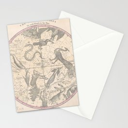 Burritt - Huntington Map of the Stars: The Southern Hemisphere Stationery Cards