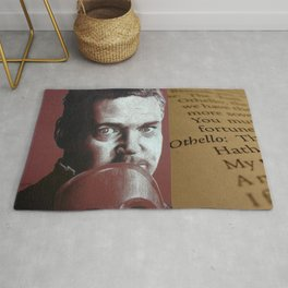 O Beware My Lord Of Jealousy Othello Shakespeare Rug