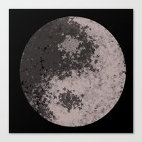 ying yang Canvas Prints featuring Ying Yang by Meg Gerena