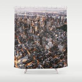 NYC Manhattan Shower Curtain