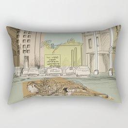 Alone. Rectangular Pillow