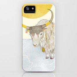 Yak iPhone Case