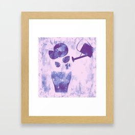Water is Life-Earth Day 1 Framed Art Print