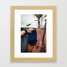 Cello Music for Meditation Framed Art Print
