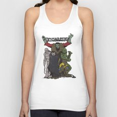 The Demonsterables Unisex Tank Top