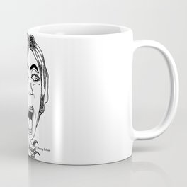 Scared Banshee Coffee Mug