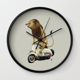 Lamb (Colour) Wall Clock