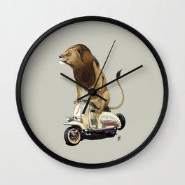 Lamb (Colour) Wall Clock