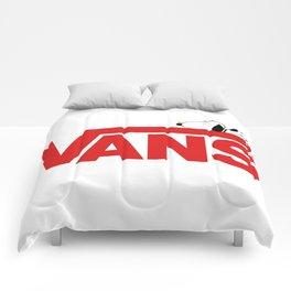 Snoopy Vans Logo Comforters