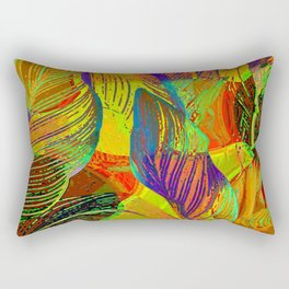 Canna 1 Pop Art Rectangular Pillow