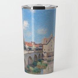 Alfred Sisley - Le Pont de Moret Travel Mug