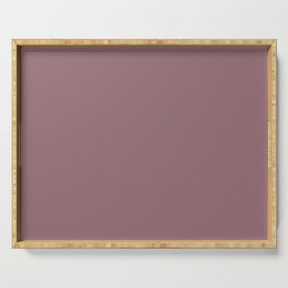 Wistful Mauve Serving Tray