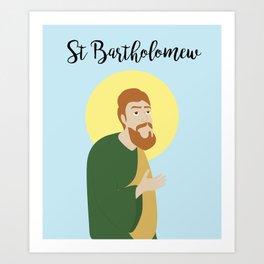 Saint BartholomewThe Apostle Art Print